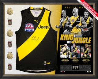 SOLD OUT! Dustin Martin - King of the Jungle Limited Edition Guernsey