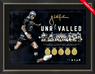 Johnathan Thurston -300 Games - Unrivalled Limited Edition