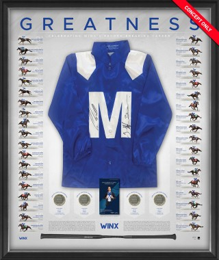 """SOLD OUT! Winx Dual Signed """"Greatness"""" Silks"""